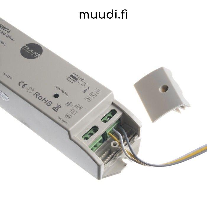 Led-spottien ja paneelien himmennys ensiopuolelta (230V)