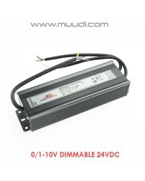 0/1-10V Himmennettävä LED Virtalähde 100W 24VDC DD03