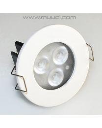 12VDC Himmennettävä LED-Spotti 3000K 8,4W IP44 CL04