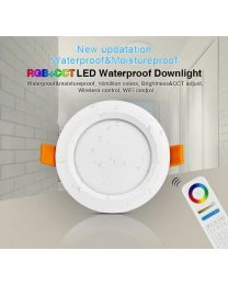 RGB ja Värilämpötilasäädettävä LED Alasvalo 6W IP54