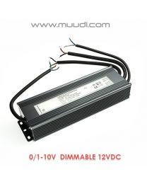 0/1-10V Himmennettävä LED Virtalähde 200W 24VDC DD36