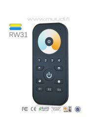 Langaton RF kaukosäädin RGB(W) 1-4 kanavaa RW36