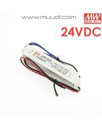 Mean Well Led Virtalähde 18W 24VDC IP67 MU79