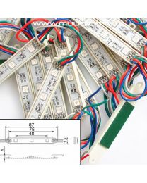 RGB LED Moduuli 0,6W 12VDC  MD09