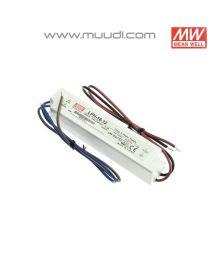 Mean Well Led Virtalähde 18W 12VDC IP67 MU74
