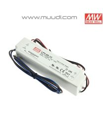 Mean Well Led Virtalähde 60W 12VDC IP67 MU65