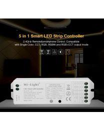 2.4G Vastaanotin Yksiväri, Värilämpösäädettävä, RGB, RGBW ja RGB+CCT 12-24VDC led-nauhoille KO70