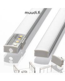 Lista kannella led-nauhoille 1700mm / 2000mm AP15