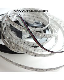 Vesisuojattu RGB Led-nauha 24V 14,4W/m IP65 NA61