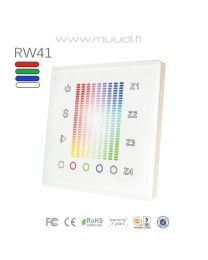 Langaton RF säädin RGB(W) 1 kanava 230VAC RW38