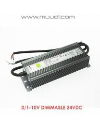 0/1-10V Himmennettävä LED Virtalähde 45W 24VDC DD51