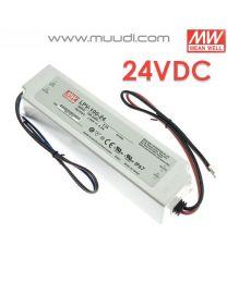 Mean Well Led Virtalähde 100W 24VDC IP67 MU72
