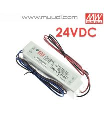 Mean Well Led Virtalähde 35W 24VDC IP67 MU73