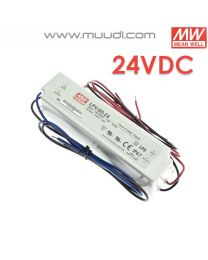 Mean Well Led Virtalähde 60W 24VDC IP67 MU70