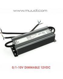 0/1-10V Himmennettävä LED Virtalähde 60W 12VDC DD01
