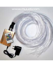 RGB LED Valokuitusarja 3W LK10