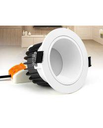 Häikäisemätön RGB ja Värilämpötilasäädettävä LED Alasvalo 6W  CT12