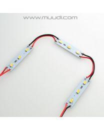 LED Moduuli 2W 12VDC Kylmä Valkoinen 50kpl