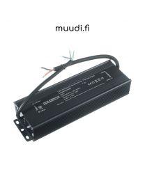 12VDC 200W triac himmennettävä led muuntaja