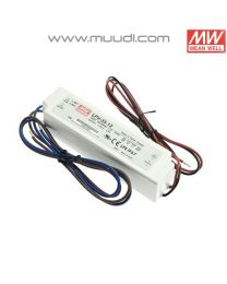 Mean Well Led Virtalähde 35W 12VDC IP67 MU69