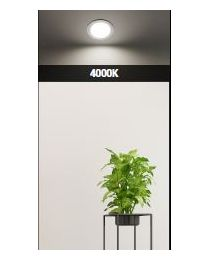 Himmennettävä IP44 LED spotti 4000K 9W