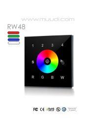 Langaton RF säädin RGB(W) 1 kanava 12-24VDC RW48